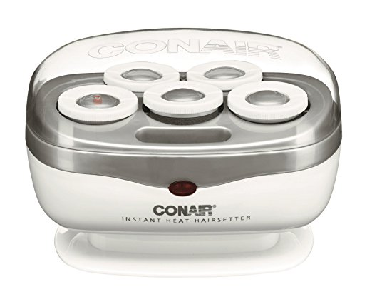 Conair Instant Heat Travel Hot Rollers in White