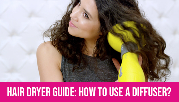 Hair Dryer Guide: How to Use a Diffuser?