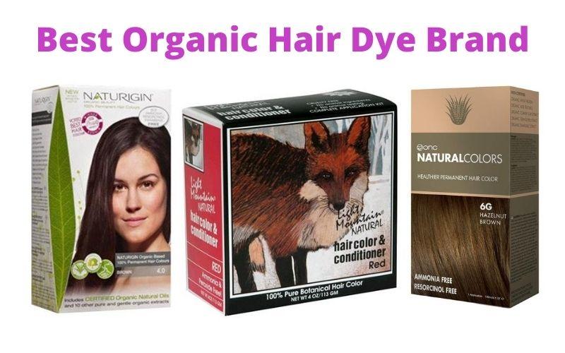 Best Organic Hair Dye Brand