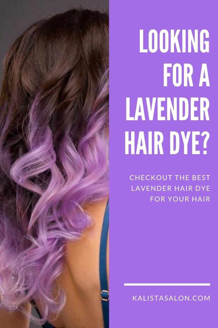 Best lavender hair dye