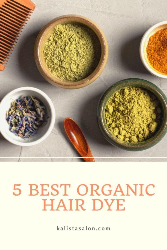 Top 5 Best Organic Hair Dye Brand