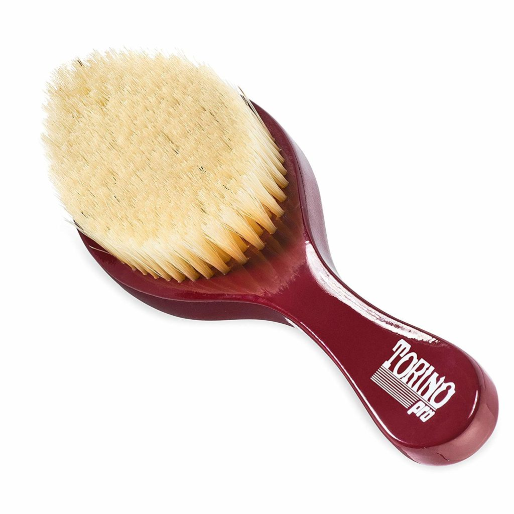 Torino Pro Wave Brush #490 by Brush King - Medium Curve Wave Brush