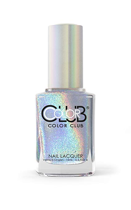 Color Club Halographic Hues Nail Polish, Multicolored, Harp On It