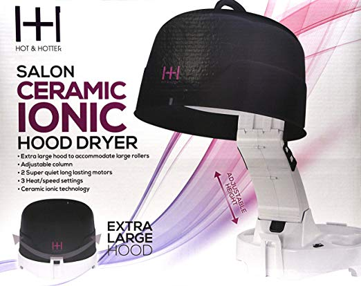Annie Hot & Hotter Extra Large 1500 Ceramic Ionic Hood Dryer