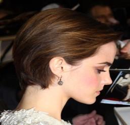 Emma Watson bob hairstyle