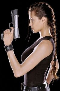 Lara Croft French Braid