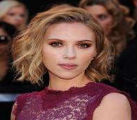 Scarlett Johannson's heart-shaped face