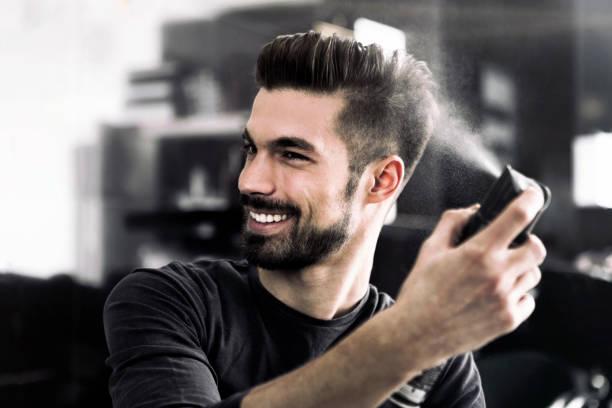 Hairspray for men