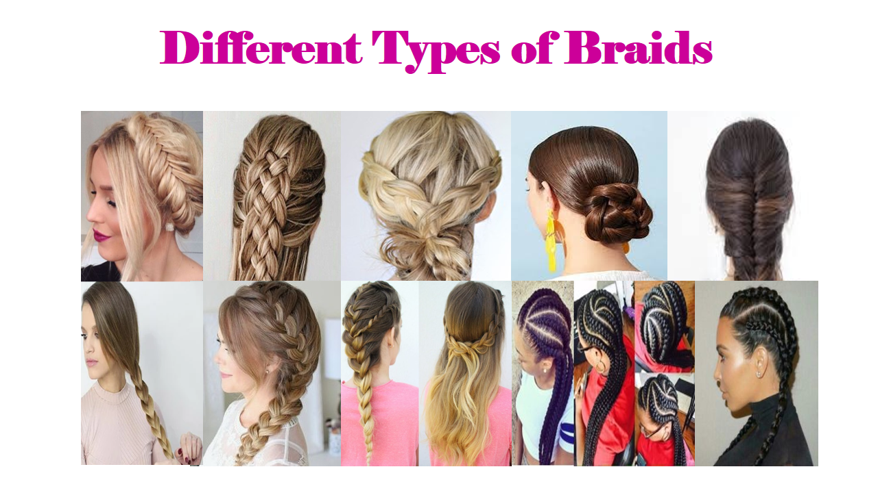 Different Types of Braids - The Ultimate Guide • Kalista Salon