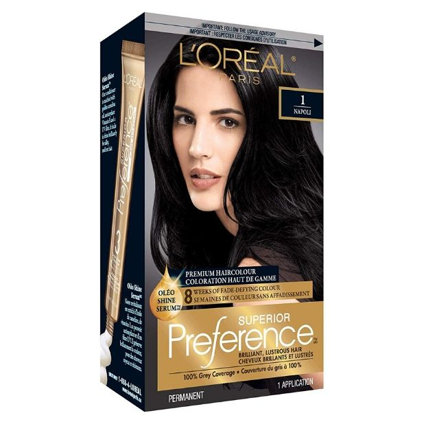 L'oreal Paris Superior Preference Hair Color Ultimate Black