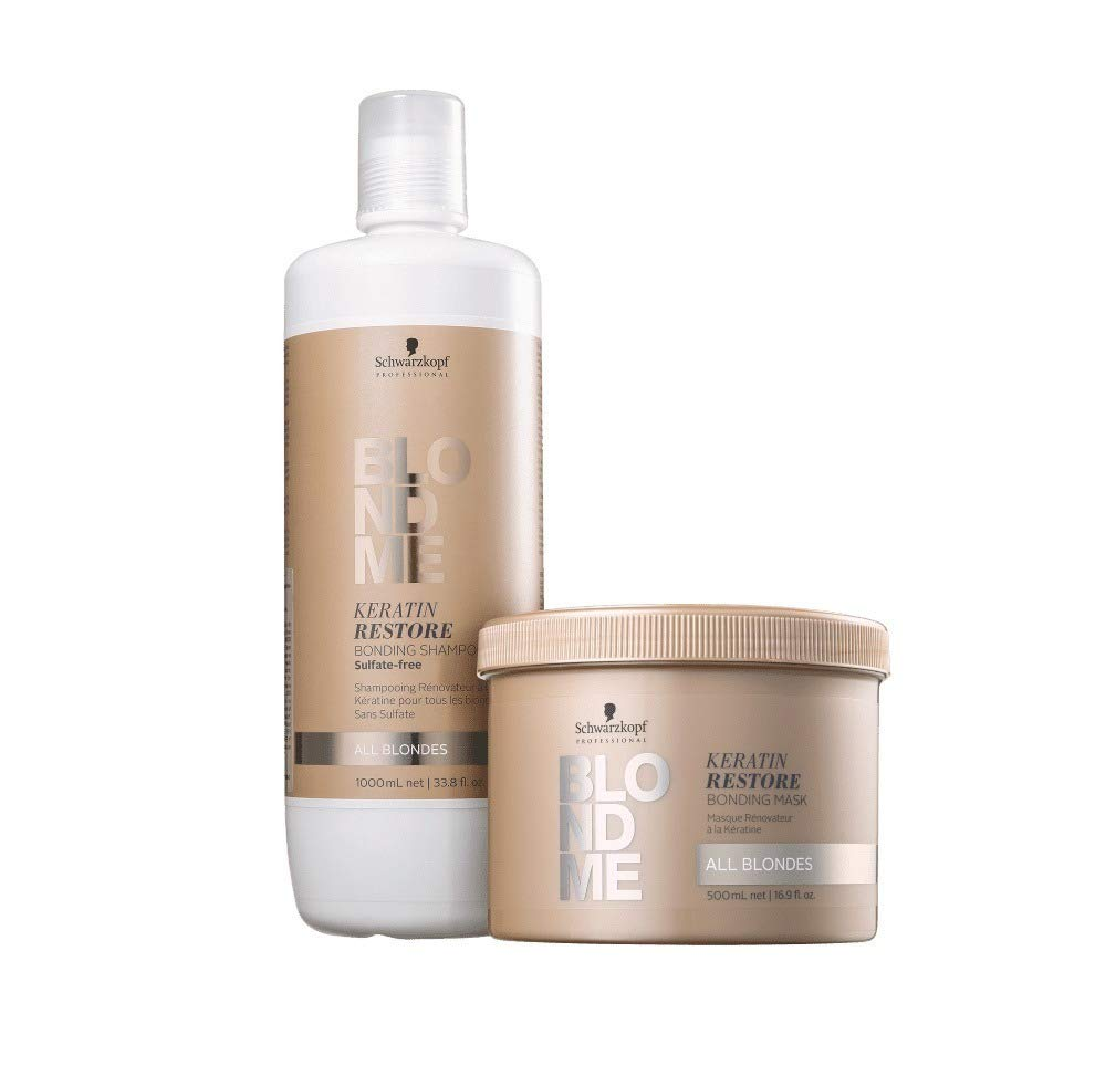 Schwarzkopf Professional BlondMe Keratin Restore Bonding Shampoo