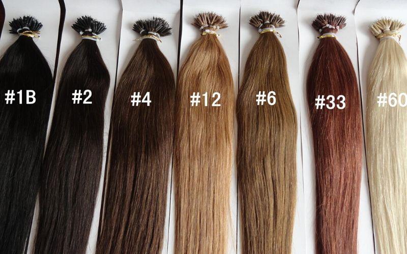 1B Hair Color Chart