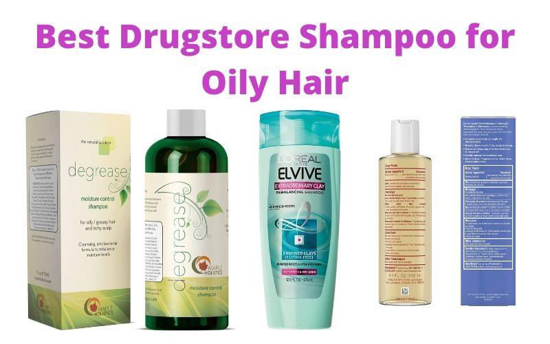 Best Drugstore Shampoo for Oily Hair