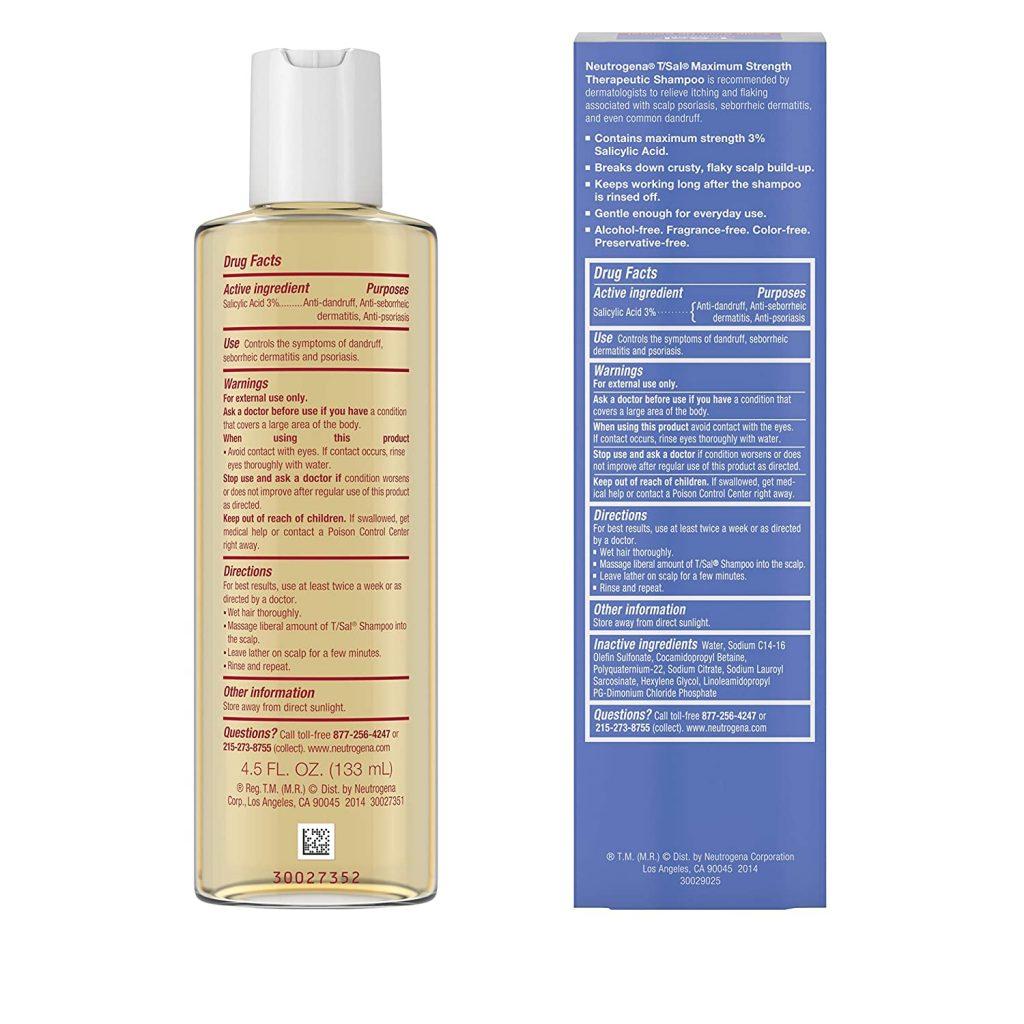 Neutrogena T/Sal Therapeutic Shampoo-Scalp Build-Up Control