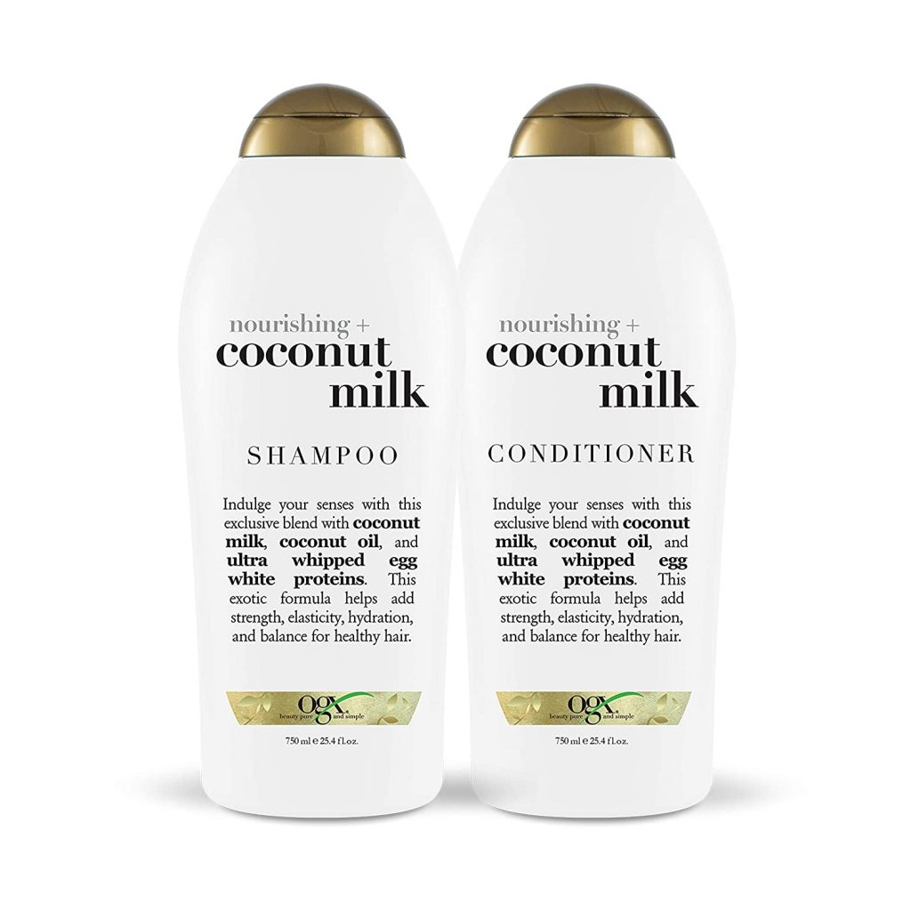 OGX Nourishing + Coconut Milk Shampoo & Conditioner