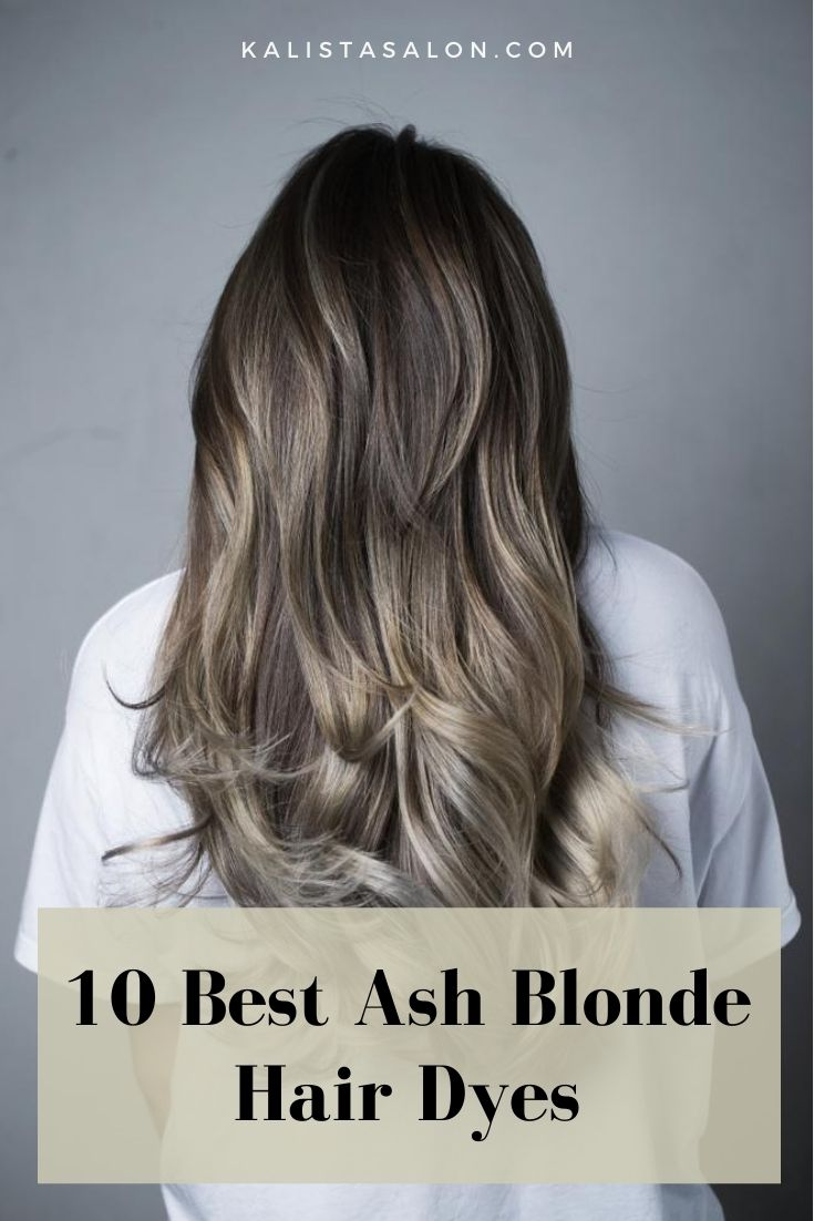 10 best ash blonde hair dyes
