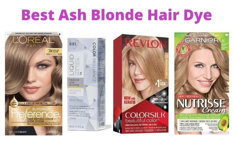 Best Ash Blonde Hair Dye