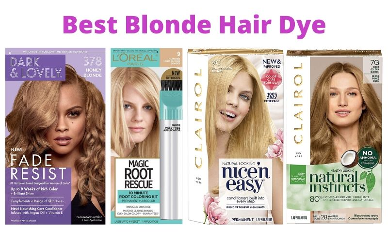 Best Blonde Hair Dye