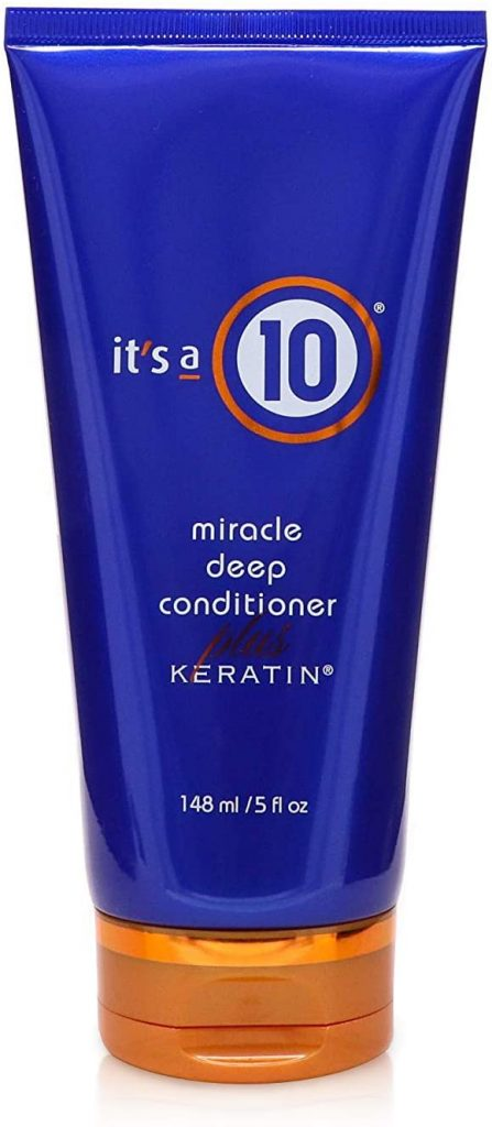 It's a 10 Miracle Deep Conditioner Plus Keratin