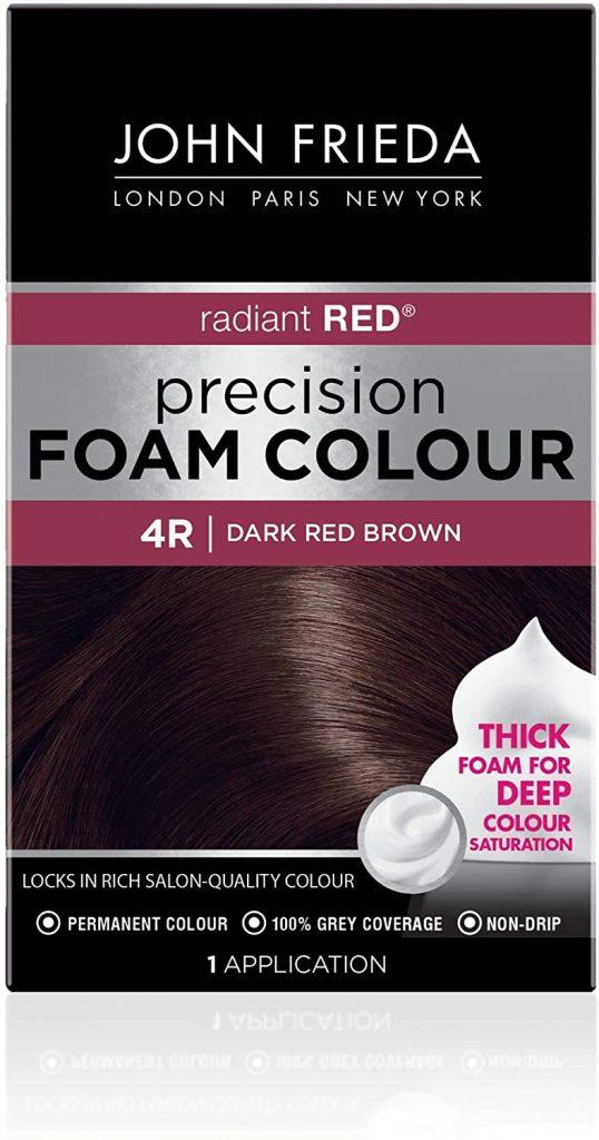 John Frieda Precision Foam Colour, Dark Red Brown