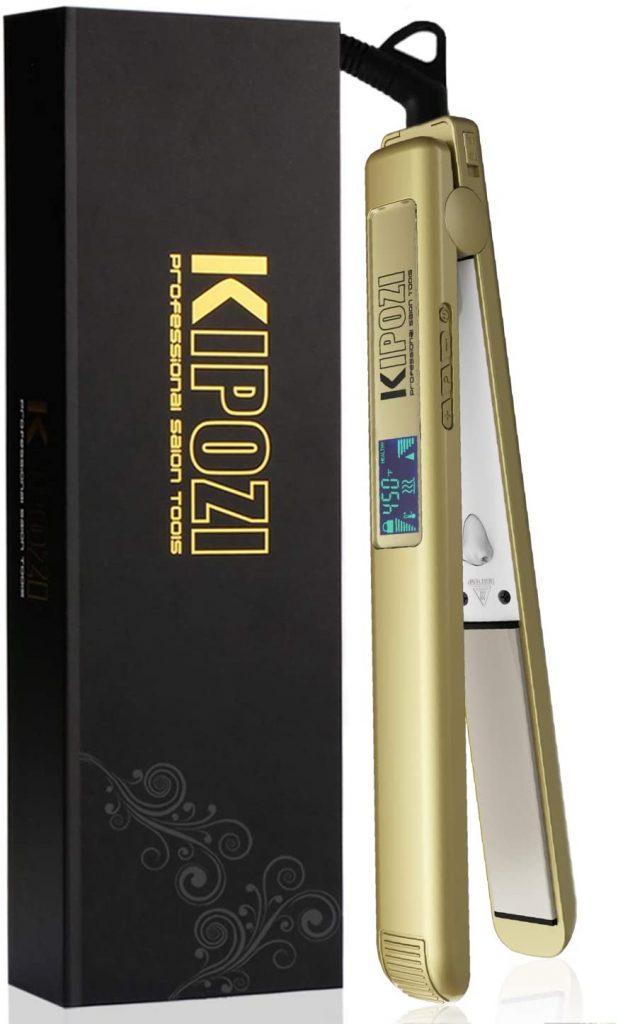 KIPOZI 1 Inch Pro Nano-Titanium Flat Iron
