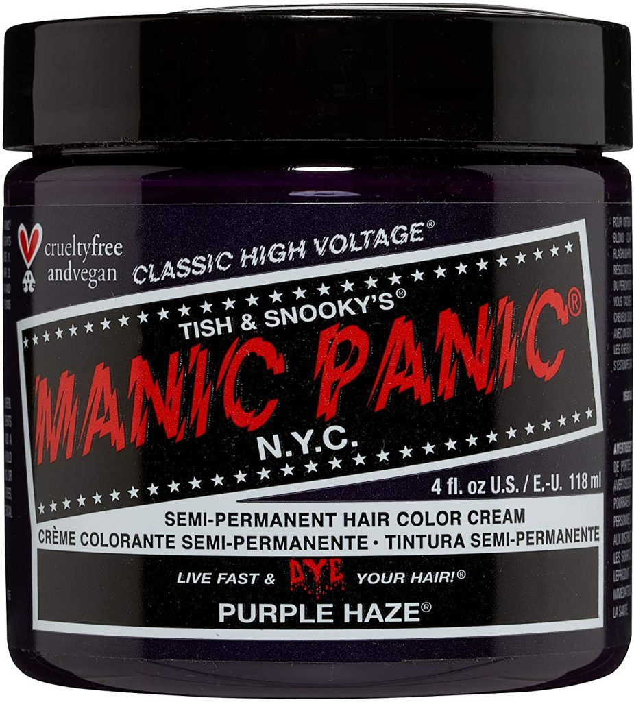 Manic Panic High Voltage classic cream Formula Purple Haze