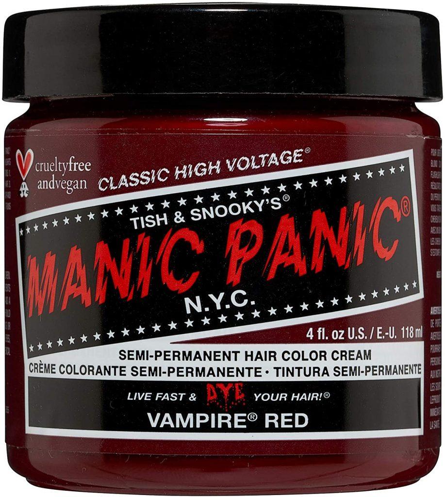 Manic Panic High Voltage classic cream Formula, Vampire Red