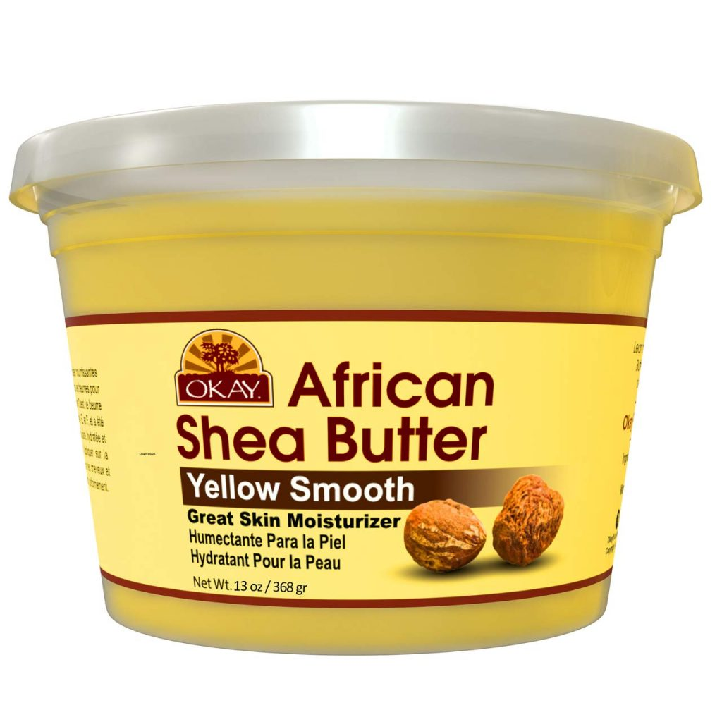 Okay African Shea Butter -Yellow Smooth