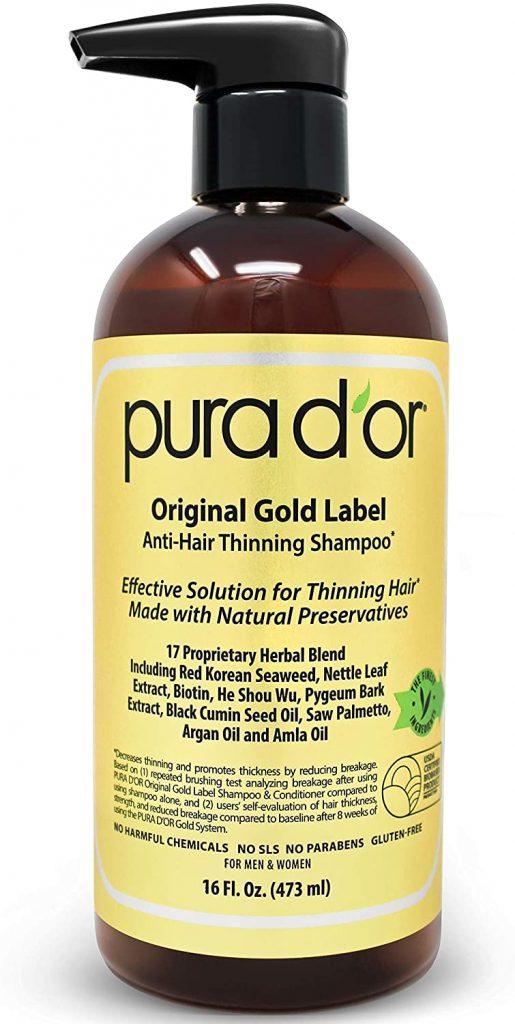 PURA D'OR Original Gold Label Biotin Anti-Thinning Shampoo