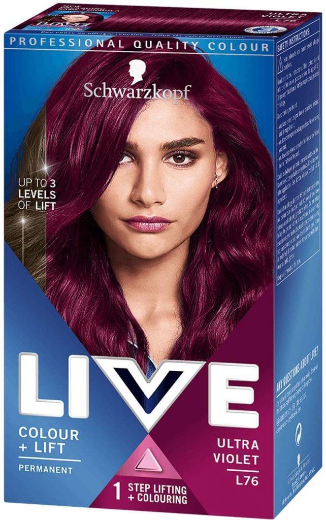 Schwarzkopf LIVE Color XXL Luminance L76 Ultra Violet