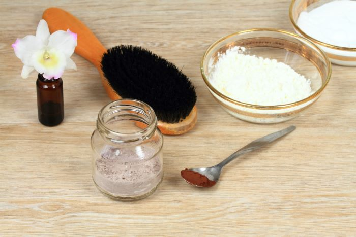 Dry shampoo ingredients