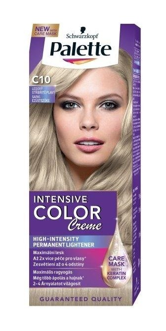 Palette Intensive Color Creme C10 Frosty Silver Blonde