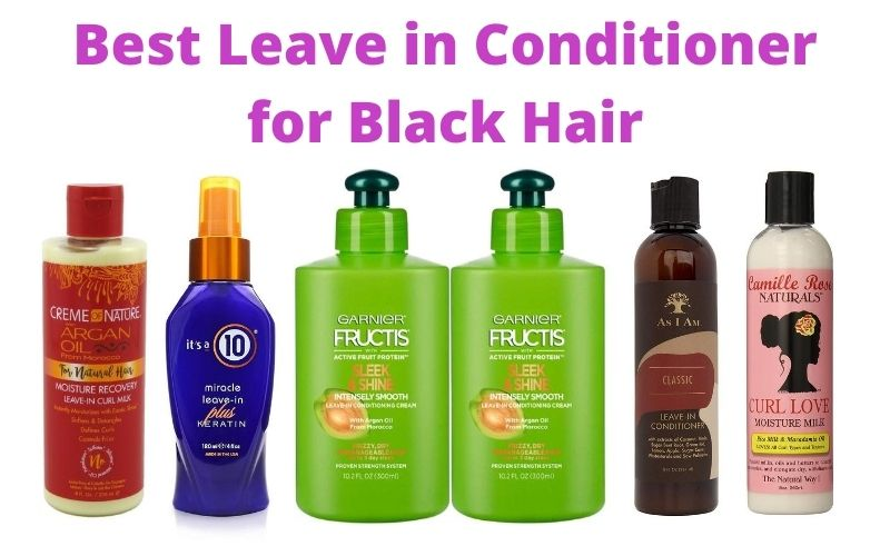 Best Leave in Conditioner for Black Hair