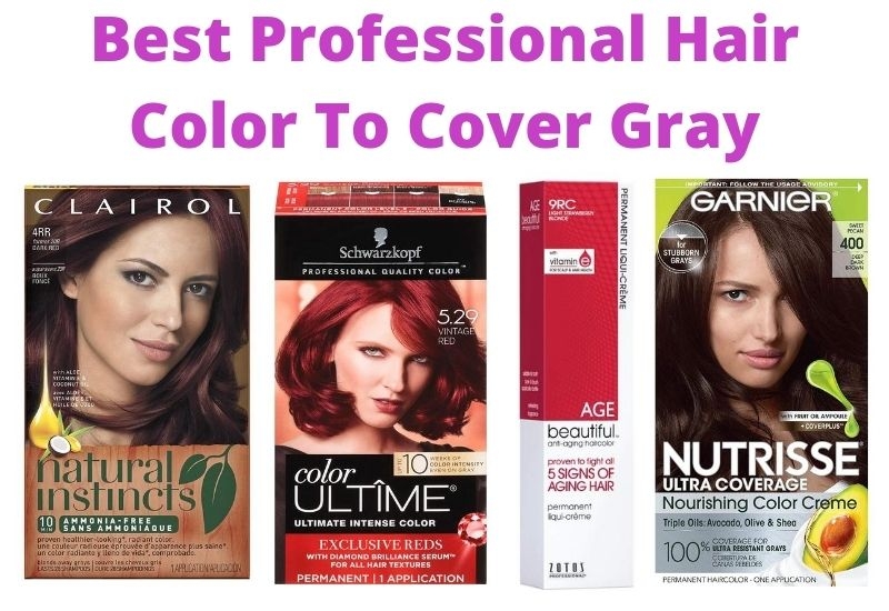 Best Professional Hair Color To Cover Gray