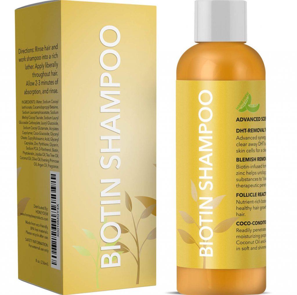 Honeydew All Natural Biotin Shampoo for Hair Growth