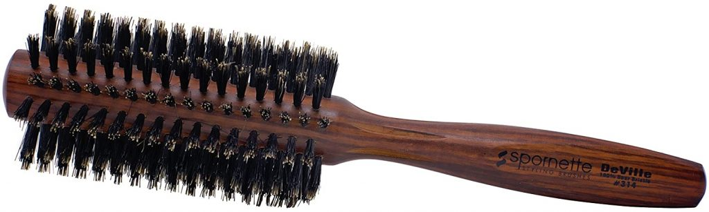 Spornette Deville 2 Inch Round Boar Bristle Hair Brush