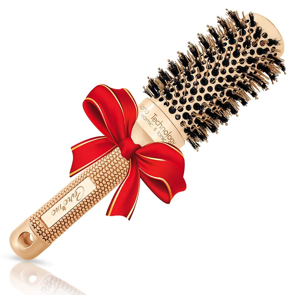 Care Me Blowout Round Hair Brush with Boar Bristles