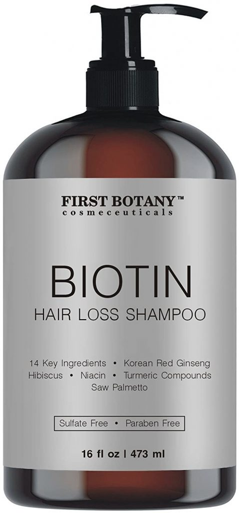 First Botany Cosmeceuticals Biotin Shampoo for Hair Regrowth