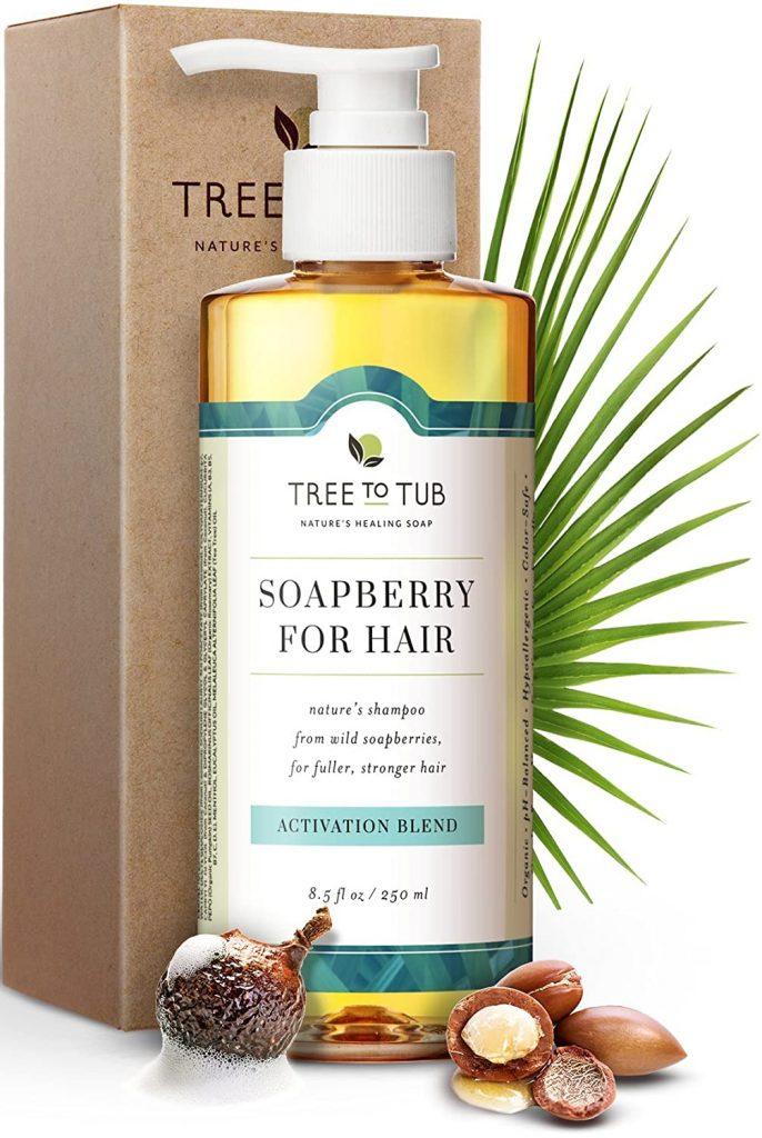 Tree To Tub Biotin Caffeine Hair Regrowth Shampoo