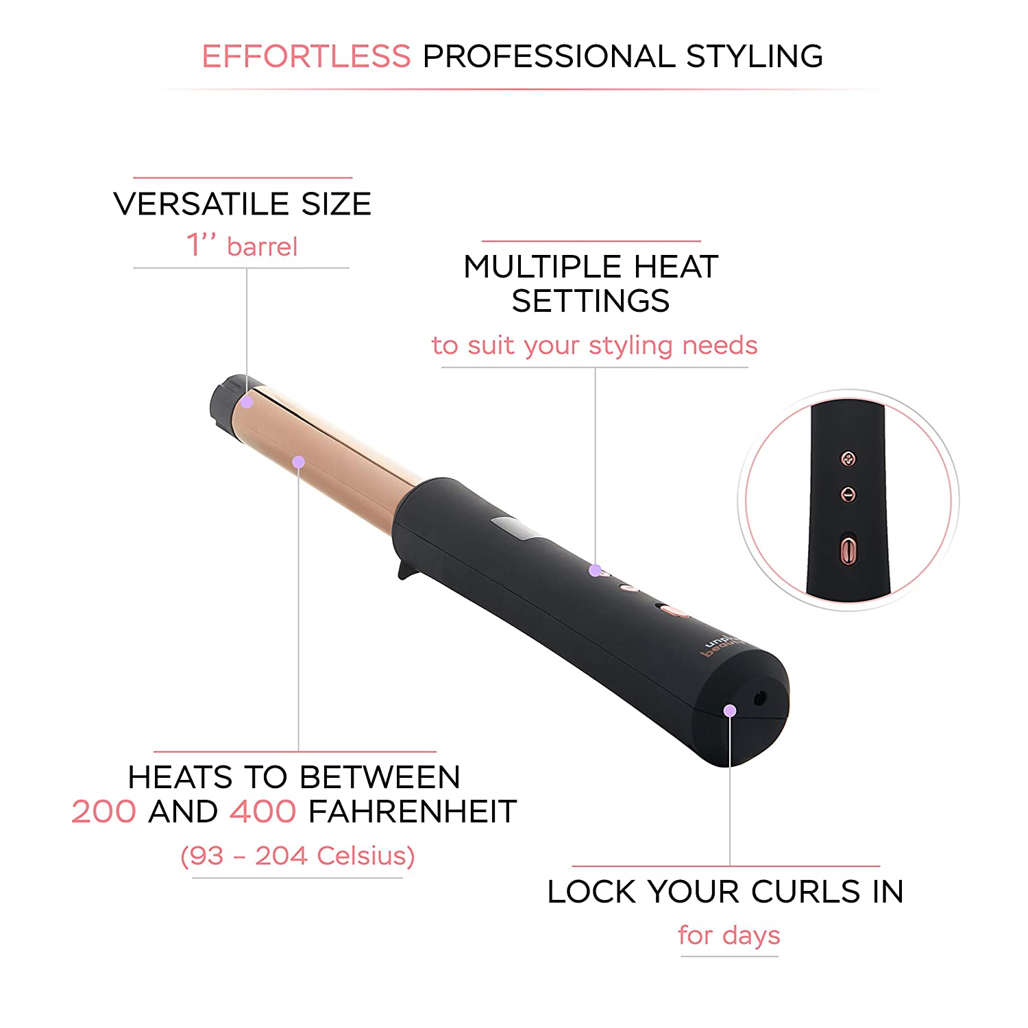 What is a cordless curling iron?