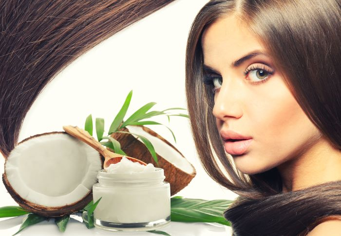Benefits of using coconut oil before coloring hair