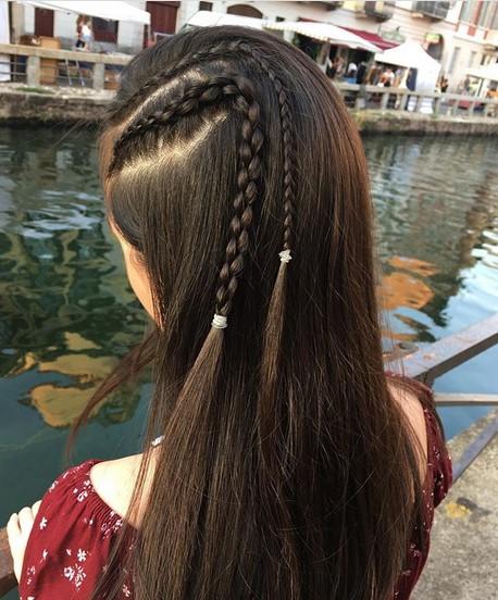 Accent braids