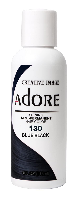 Adore Semi-Permanent Hair Color- #130 Blue Black