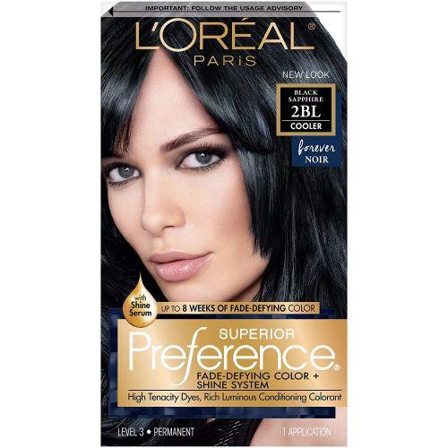 L'Oreal Paris Superior Preference Hair Color- 2BL Black Sapphire