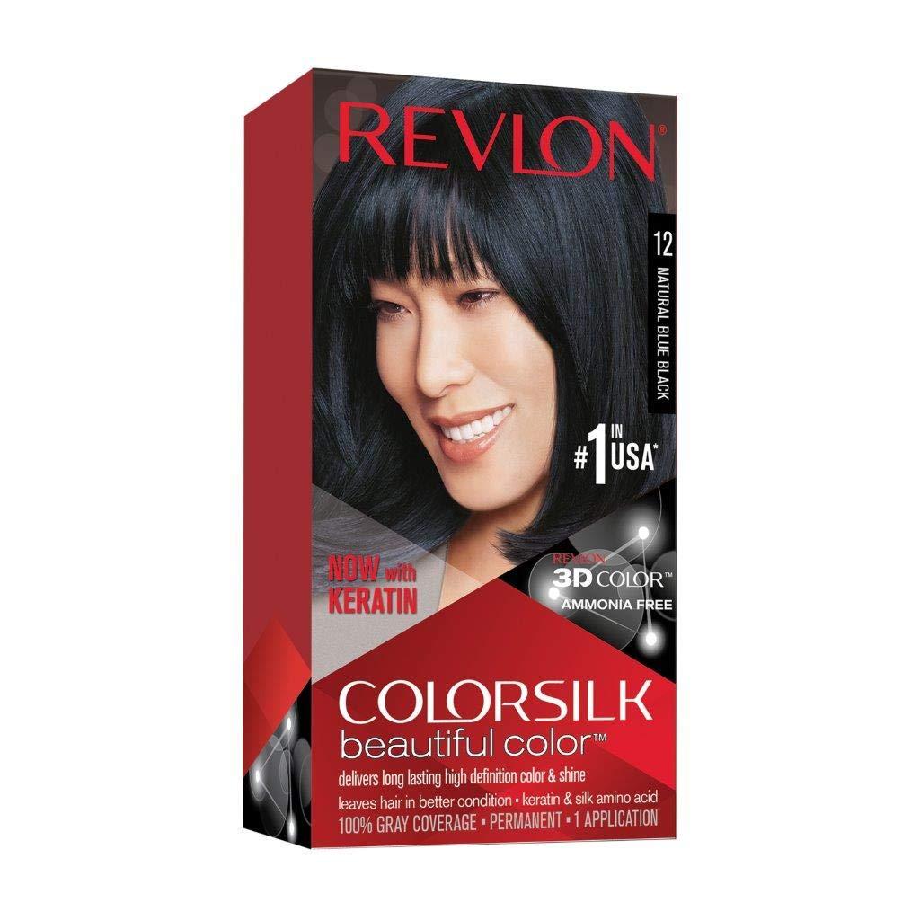 Revlon Colorsilk Beautiful Color- Natural Blue Black