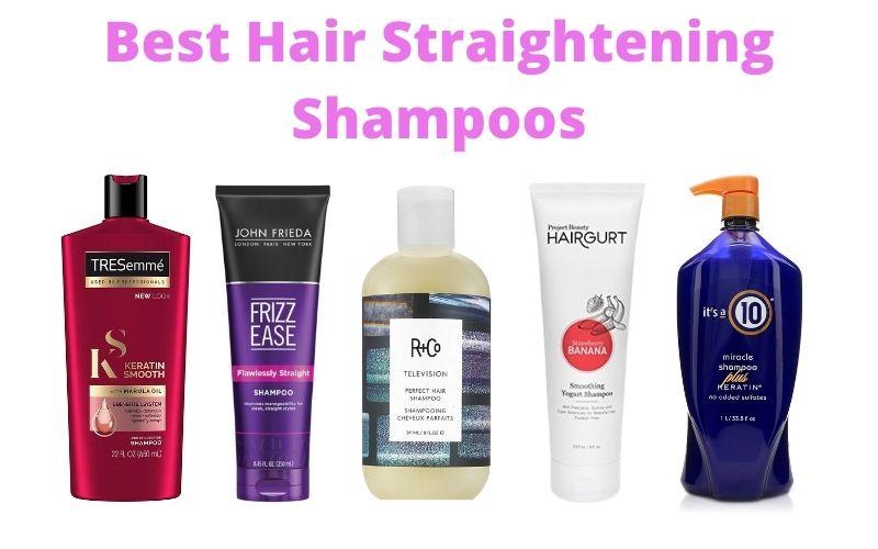 Best Hair Straightening Shampoos