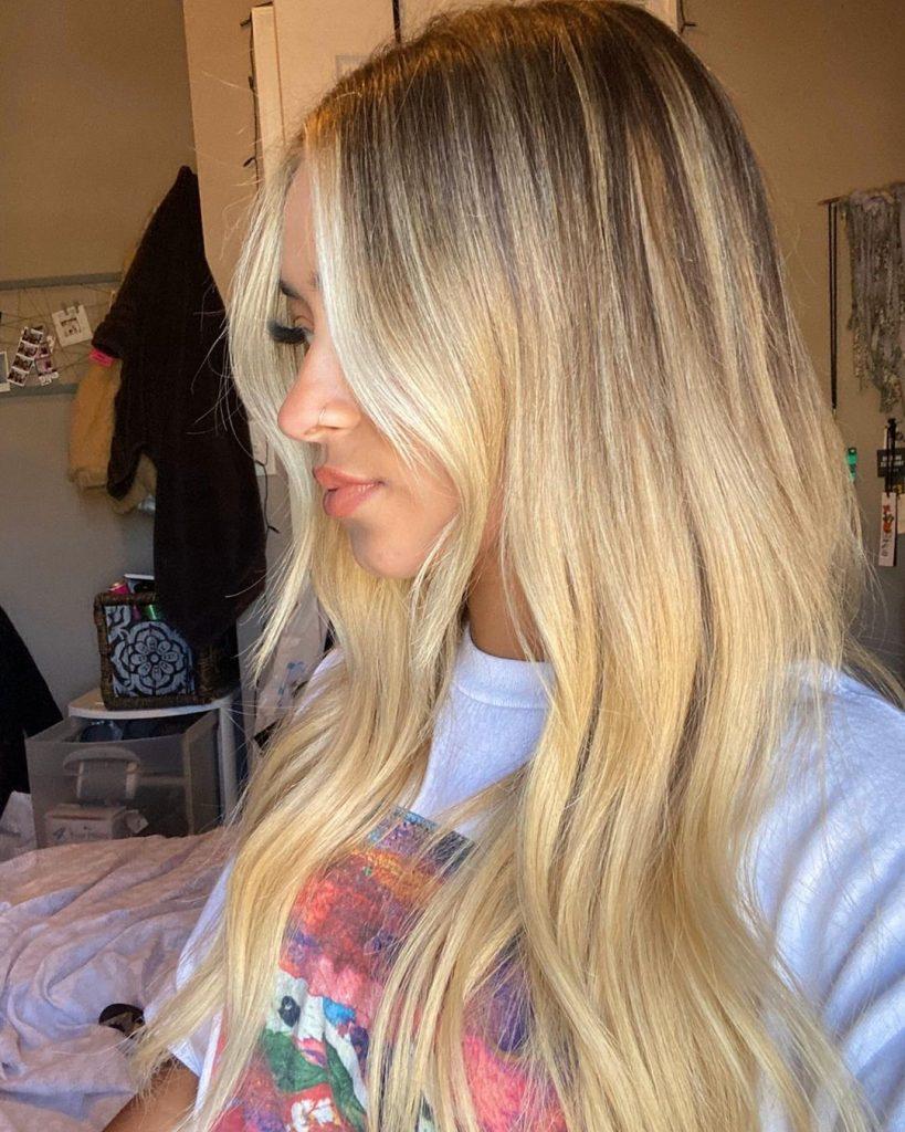 Undone blonde