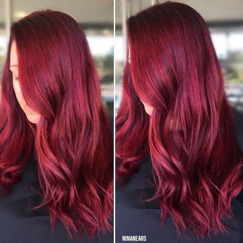 Scarlet red