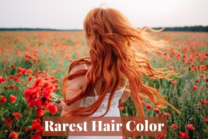 Rarest hair color