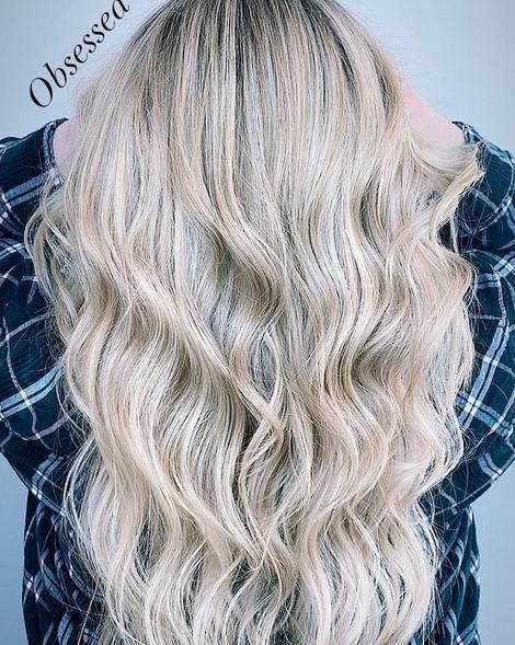 Tousled hair + bangs